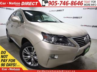 Used 2013 Lexus RX 350 | AWD| NAVI| LEATHER| SUNROOF| BACK UP CAM| for sale in Burlington, ON