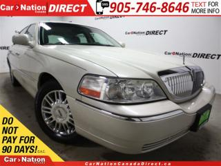 Used 2007 Lincoln Town Car Signature Limited| LOW KM'S| SUNROOF| LEATHER| for sale in Burlington, ON