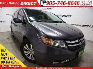 Used 2015 Honda Odyssey EX-L| NAVI| LEATHER| SUNROOF| 8-PASSENGER| for sale in Burlington, ON