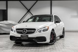 Used 2016 Mercedes-Benz E63 AMG S 4MATIC Sedan for sale in Langley, BC