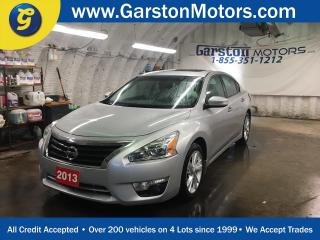 Used 2013 Nissan Altima SL**LEATHER*POWER SUNROOF*BOSE AUDIO*HEATED FRONT SEATS*KEYLESS ENTRY w/REMOTE START*DUAL ZONE CLIMATE CONTROL*ALLOYS* for sale in Cambridge, ON