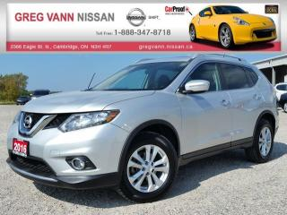 Used 2016 Nissan Rogue SV AWD w/heated seats,rear cam,xm radio,sport mode,panoramic roof for sale in Cambridge, ON