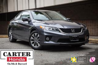 Used 2015 Honda Accord EX-L-NAVI + LEATHER + ACCIDENT FREE + CERTIFIED! for sale in Vancouver, BC