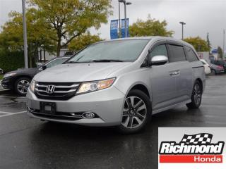 Used 2014 Honda Odyssey Touring! Honda Certified Extended Warranty to 120 for sale in Richmond, BC