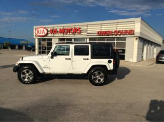 Used 2017 Jeep Wrangler Sahara for sale in Owen Sound, ON