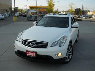 Used 2008 Infiniti EX35 AWD, Leather, Sunroof, 3/Y warranty availabl for sale in North York, ON