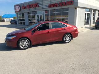 Used 2015 Toyota Camry LE for sale in Owen Sound, ON