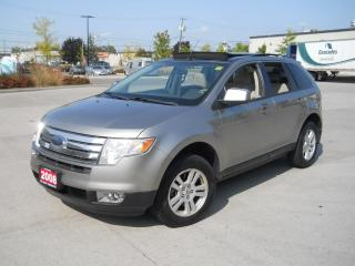Used 2008 Ford Edge AWD, Glass Roof, 4 Door, Auto, 3 years warranty for sale in North York, ON