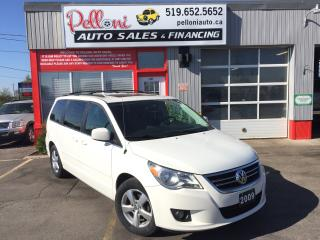 Used 2009 Volkswagen Routan HIGHLINE|LEATHER|SUNROOF|NAVI|DUAL DVD for sale in London, ON