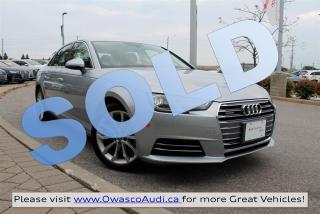 Used 2017 Audi A4 *SOLD* quattro Progressiv w/ MMI Navigation Plus for sale in Whitby, ON