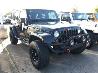 Used 2012 Jeep Wrangler Unlimited SAHARA**KEYLESS ENTRY**POWER WINDOWS** for sale in Mississauga, ON