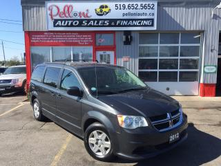 Used 2012 Dodge Grand Caravan SE|STOW N' GO|CAPTAINS CHAIRS|REAR A/C for sale in London, ON