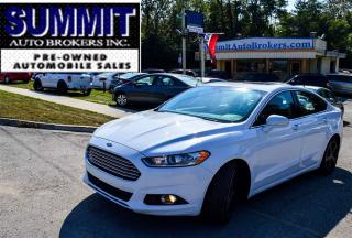 Used 2015 Ford Fusion SE | CAR-PROOF CLEAN | CAMERA | LEATHER | ROOF for sale in Richmond Hill, ON
