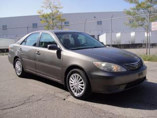 Used 2005 Toyota Camry LE MODEL-ZERO ACCIDENTS,LOADED,ALL POWER,4 CYL for sale in North York, ON
