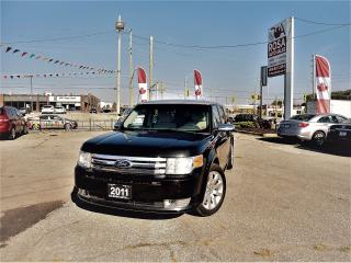 Used 2011 Ford Flex AUTO LIMITED 6 PASS DVD BLUETOOTH LEATHER for sale in Oakville, ON