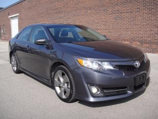 Used 2014 Toyota Camry SE LOADED-NAVI,BACK CAM,SPORT HEATED SEATS for sale in North York, ON