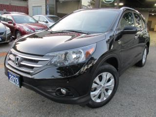 Used 2013 Honda CR-V TOURING-PKG-NAVIGATION-CAMERA-LOADED for sale in Scarborough, ON