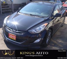 Used 2013 Hyundai Elantra GLS, SUNROOF, HEATED SEATS for sale in Scarborough, ON