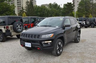 Used 2017 Jeep Compass Trailhawk - 4x4, Back Up Cam, Sunroof, GPS for sale in London, ON