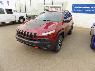 Used 2016 Jeep Cherokee Trailhawk for sale in Edmonton, AB