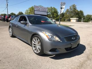 Used 2010 Infiniti G37 Sport for sale in Komoka, ON
