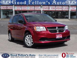 Used 2014 Dodge Caravan SXT MODEL, 7 PASSENGER, STOW N GO SEATING for sale in North York, ON