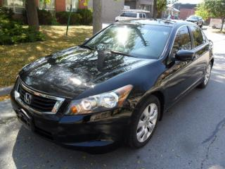 Used 2008 Honda Accord EX-L, 5 SP, NAVI, SUNROOF, LEATHER, NEW BRAKES for sale in Etobicoke, ON