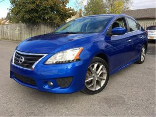 Used 2013 Nissan Sentra 1.8 SR NAVIGATION SUNROOF for sale in St Catharines, ON