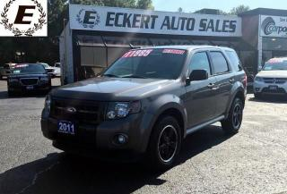 Used 2011 Ford Escape XLT /LEATHER/BLUETOOTH for sale in Barrie, ON