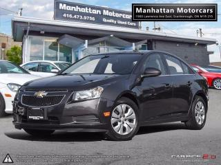 Used 2014 Chevrolet Cruze LT AUTO |BLUETOOTH|CAMERA|WARRANTY|48000KM for sale in Scarborough, ON