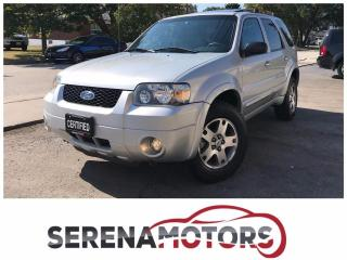 Used 2005 Ford Escape LIMITED | 4WD | MINT CONDITION | NO ACCIDENTS for sale in Mississauga, ON