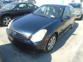 Used 2006 Infiniti G35X for sale in Innisfil, ON