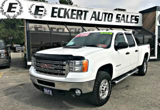 Used 2012 GMC Sierra 2500 HD SLE *FREE 1YR/UNLIMITED KM POWERTRAIN WARRANTY* for sale in Barrie, ON