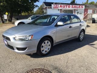 Used 2009 Mitsubishi Lancer Automatic/Gas Saver/Clean Carproof/Certified for sale in Scarborough, ON