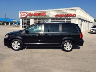 Used 2016 Dodge Grand Caravan Crew Plus for sale in Owen Sound, ON