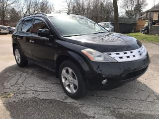 Used 2004 Nissan Murano 4X4 - SAFETY & WARRANTY for sale in Cambridge, ON