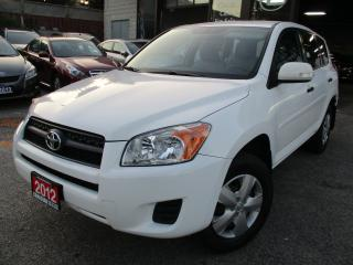 Used 2012 Toyota RAV4 SPORT-UTILITY-BLUE-TOOTH-ONE-ONWER for sale in Scarborough, ON