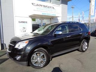 Used 2014 Chevrolet Equinox LTZ AWD V6, Nav, Leather, Sunroof for sale in Langley, BC