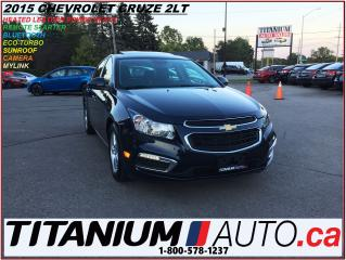 Used 2015 Chevrolet Cruze 2LT+Leather+Camera+Sunroof+Remote Start+Push Butto for sale in London, ON