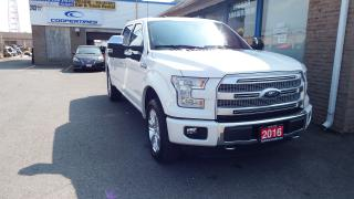 Used 2016 Ford F-150 Platinum/NAVI/BACKUP CAMERA/IMMACULATE@55900 for sale in Brampton, ON