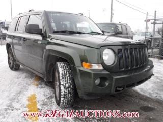Used 2008 Jeep PATRIOT  4D UTILITY 4WD for sale in Calgary, AB