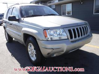 Used 2004 Jeep GRAND CHEROKEE  AWD for sale in Calgary, AB