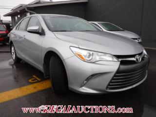 Used 2016 Toyota Camry for sale in Calgary, AB