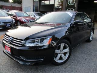 Used 2012 Volkswagen Passat 2.5L Auto Comfortline-LUXURY-LEATHER-SUNROOF-LOADE for sale in Scarborough, ON