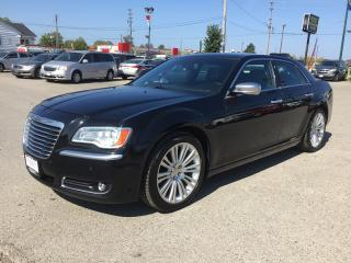 Used 2012 Chrysler 300 C LUXURY SERIES * LEATHER * NAV * REAR CAM * PANO SUNROOF * BLUETOOTH for sale in London, ON