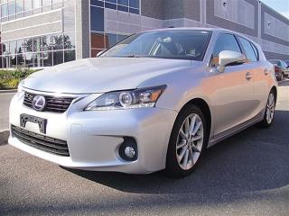 Used 2013 Lexus CT 200h SUNROOF, LEATHER, TOYOTA SAFETY for sale in Aurora, ON
