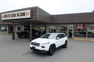 Used 2016 Jeep Cherokee Limited 4X4 for sale in Langley, BC