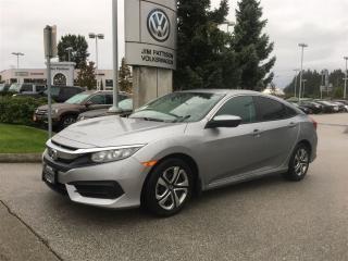 Used 2016 Honda Civic Sedan LX CVT for sale in Surrey, BC