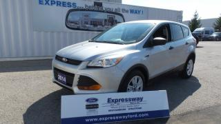 Used 2014 Ford Escape S, Local Trade In for sale in Stratford, ON