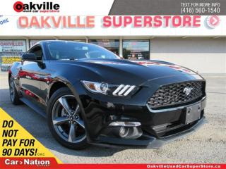 Used 2017 Ford Mustang V6 | 6 SPEED M/T | B/U CAM | BLUETOOTH | LOW KM!! for sale in Oakville, ON